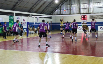 Toledo volleyball to debut with victory in the 'A' division of Open Games of Paraná